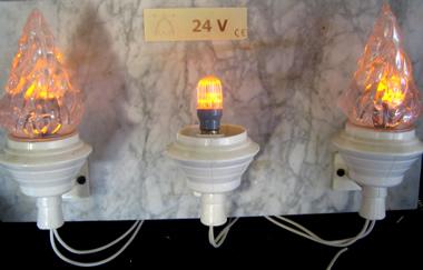 Lampada votiva a led lampade votive a led per cimiteri for Lampade votive a led